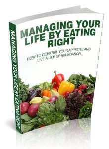 Managing-Your-Life-By-Eating-Right, for weight loss, and health & Diet books