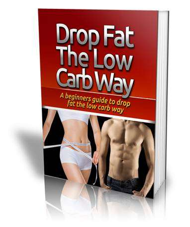 Drop Fat The Low Carb Way - Diet Books