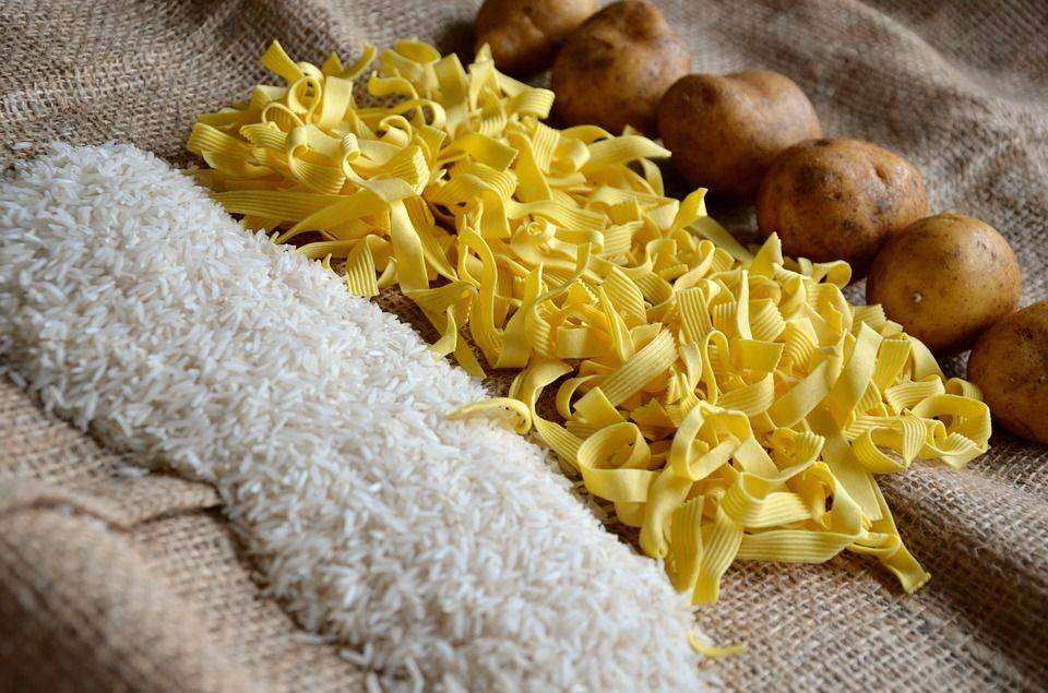 No Pasta, rice for 20 Ultimate Dieting Secrets