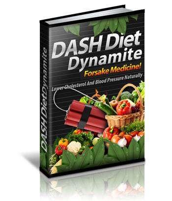 Dash Diet Dynamite - Books Logo - Diet & Weight loss books