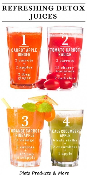 Detox Drinks - Addiction cleansing 1
